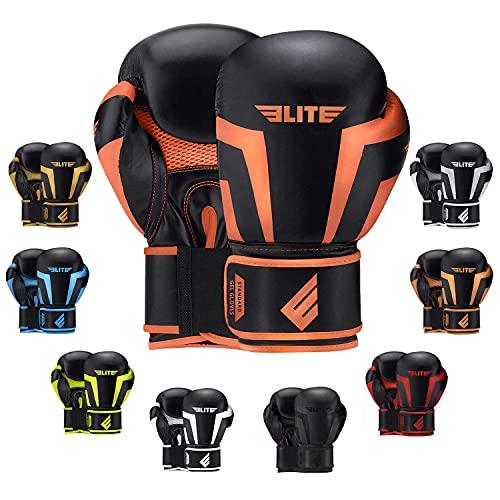 2021 Pro Boxing Gloves for Men Women & Kids, Boxing Training Gloves, Kickboxing Gloves, Sparring Gloves, Heavy Bag Gloves for Boxing, Kickboxing, Muay Thai, MMA (4 Oz)
