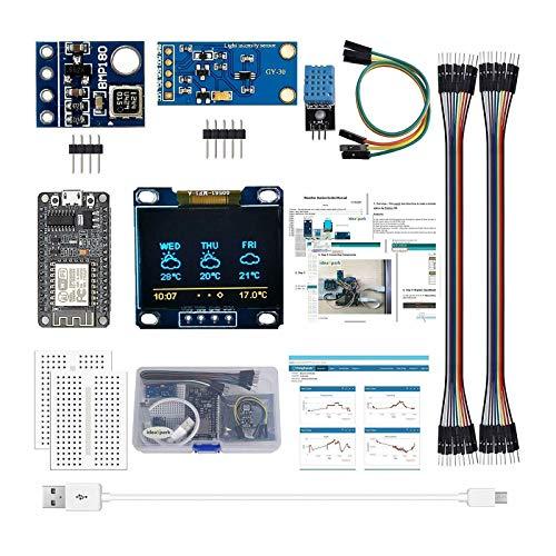 Eipek Arduino Kit ESP8266 Estación meteorológica para Arduino IDE IoT Starter English Tutorial