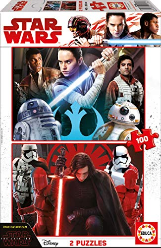 Star Wars- Puzzle Doble, 100 Piezas (Educa 17462)