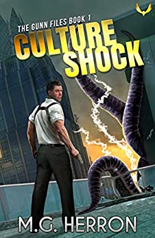 Culture Shock: A First Contact Mystery Thriller (The Gunn Files Book 1) by [M.G. Herron]
