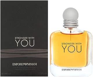 Emporio Armâni Stronger With You by Giòrgio Armâni for Men EDT Spray 3.4 OZ. 100 ml.