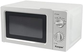 Kooper 2194555 - Horno de microondas (20 L, 700 W, descongelación, 5 programas, temporizador)