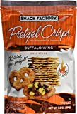 Snack Factory, Pretzel Crisps, Buffalo Wing, 7.2oz Pouch (Pack of 4) by Pretzel Crisps