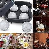 Fandazzie Ice Ball Maker Küchenhelfer Silikon Whisky Eisform Bar-Accessoires