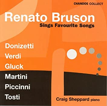 BRUSON, Renato: Renato Bruson Sings Favourite Songs