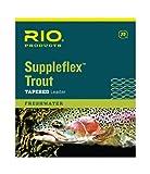 RIO Products Leaders Suppleflex Vorfach, konisch, 3,6 m, transparent