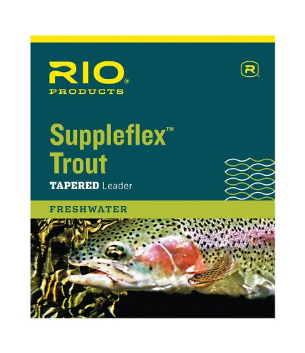RIO Products Leaders Suppleflex Tapered Leader 2,1 m, 5X, transparent