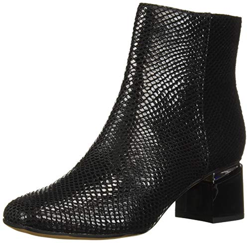 Franco Sarto Women's Marquee Ankle Boot, Black Snake Print, 7 M US