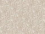 Dekostoff Vorhangstoff Jacquard Samt LA VITA Muster floral