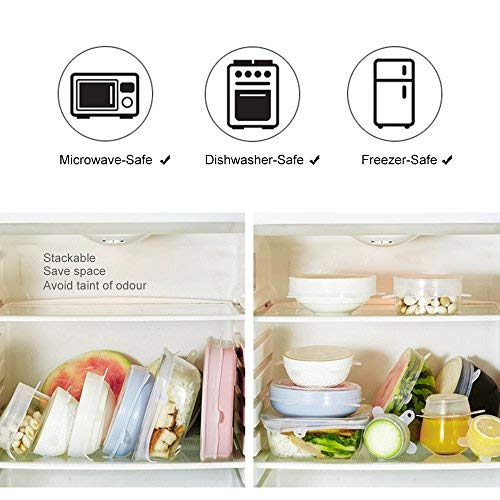 LetGoShop Wireless Portable Handheld Food Vacuum Sealer Machine with 5 Pieces Reusable Food Vacuum Sealers Bags White