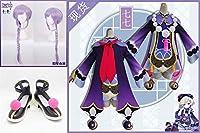 原神(Genshin)七七 コスプレ衣装+ウィッグ+靴 仮装 ステージ服 舞台 ハロウィン クリスマス