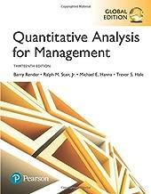 Quantitative Analysis for Management, Global Edition