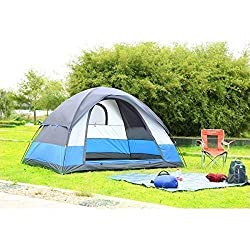 MG SALESS Picnic Camping Portable Waterproof Tent for 8 Person/Camping Dome Tents with Multi-Colour,MG SALESS