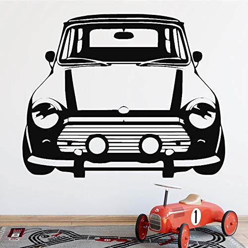 Pegatinas creativas de pared de fondo de coche para decoración de dormitorios de niños, calcomanías de pared, papel tapiz para sala de estar, adhesivo de pasta A4 58x73cm