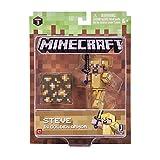 Minecraft 16488 - Figura de acción de 7,62 cm – Steve in Gold...