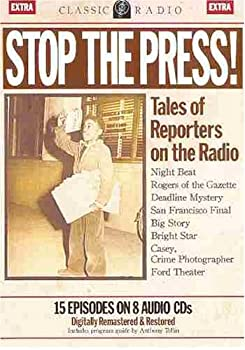 Audio CD Stop the Press! Tales of Reporters on the Radio Book