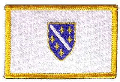 Aufnäher Patch Flagge Bosnien alt 1992-1998 - 8 x 6 cm