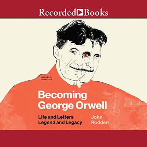 『Becoming George Orwell』のカバーアート