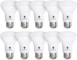 10 Pack BR20 LED Bulb 5000K 7W 50 Watt Equivalent - Dimmable - 550 Lumens E26 Cool White LED Can Light Bulbs for Bedroom, ...