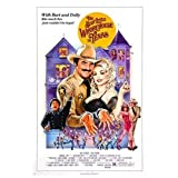 DrCor The Best Little Whorehouse In Texas Movie Canvas Wall Art Poster Painting Home Decor Picture Print On Canvas -20x28 Inch No Frame 1 PCS