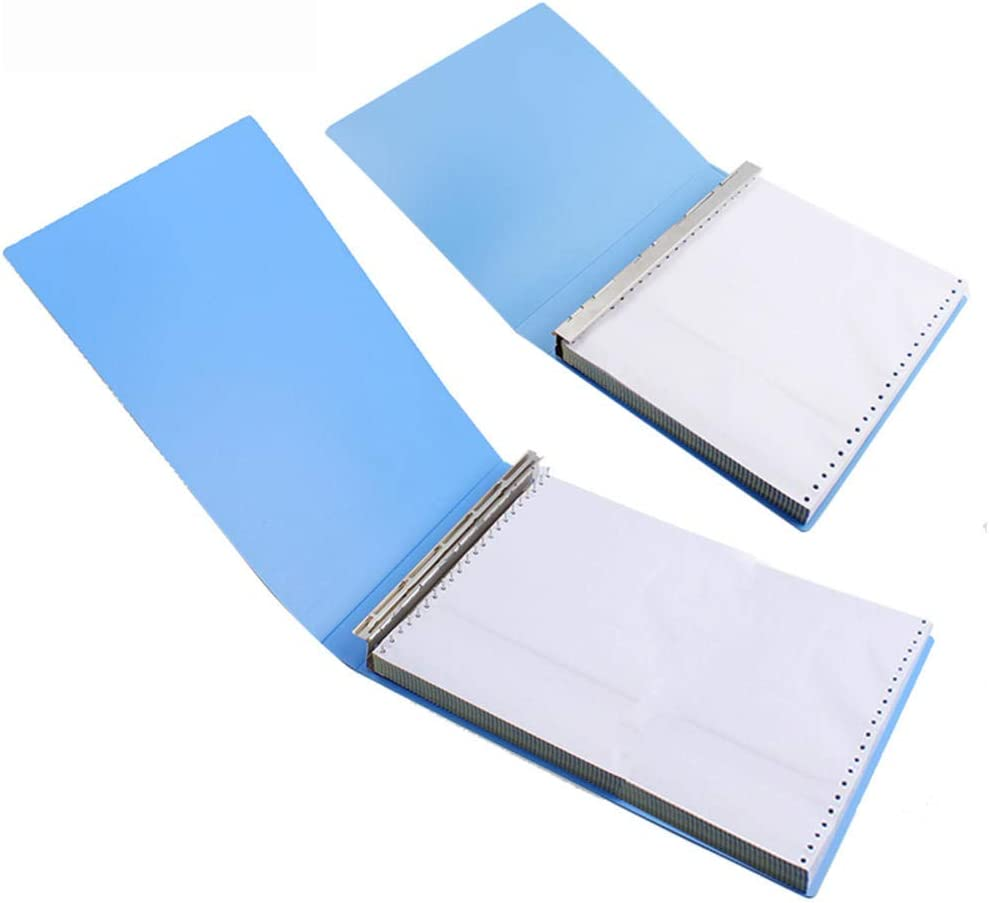 WOLDce 1pcs 22 Hole File Folder Computer Fold Printing Paper List price pin Max 83% OFF