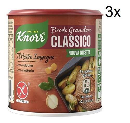 3x knorr brodo granulare classico granulierte Brühe klassisch 150 gr