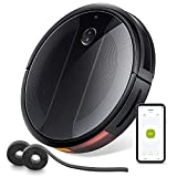 E20 Max Robot Vacuum Cleaner, 2500Pa Powerful Suction, 150 Min Runtime Robotic Vacuum,Ultra-thin,Quiet, Automatic Charging, Suport Alexa WiFi, Fall & Collision Prevention, Ideal for Carpet, Hard Floor