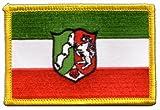 Flaggen Aufnäher Deutschland Nordrhein Westfalen Fahne
