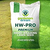 Gardeners Hard-Wearing Lawn Grass Seed - 5KG