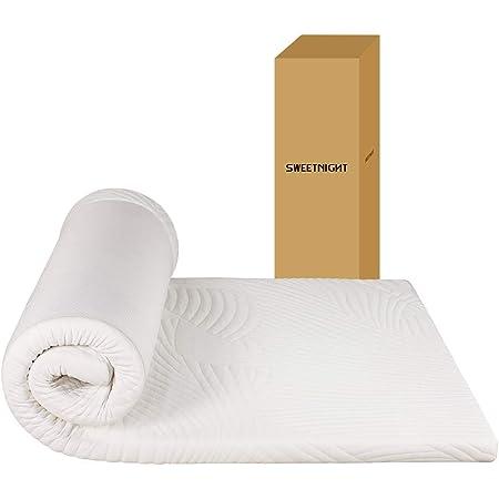 Sweetnight マットレス シングル 低反発 体圧分散性優れ 夢の寝心地 低ホル 体に優しい 30D高密度 へったりにくい マットレストッパー カバー洗える 厚さ3cm 敷き布団