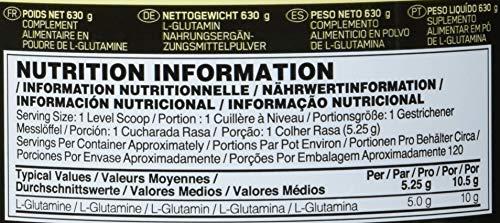 Optimum Nutrition Glutamine Powder, 1er Pack (1 x 600 g) - 5