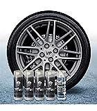 Pack Llantas Vinilo LIQUIDO Full Dip 4 Sprays Aluminio Metalizado Brillo