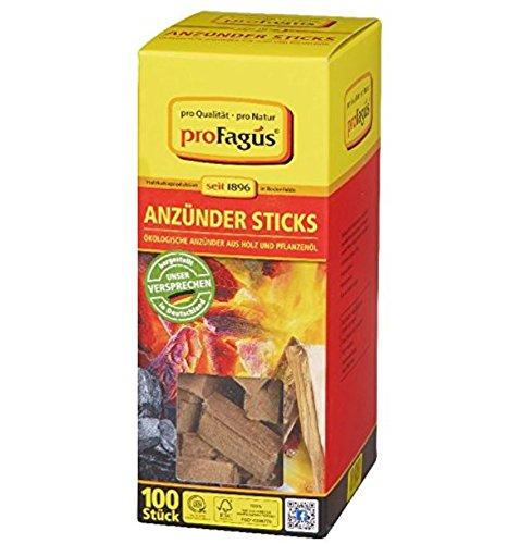 PROFAGUS Grill Flamis 100 Anzünder Sticks