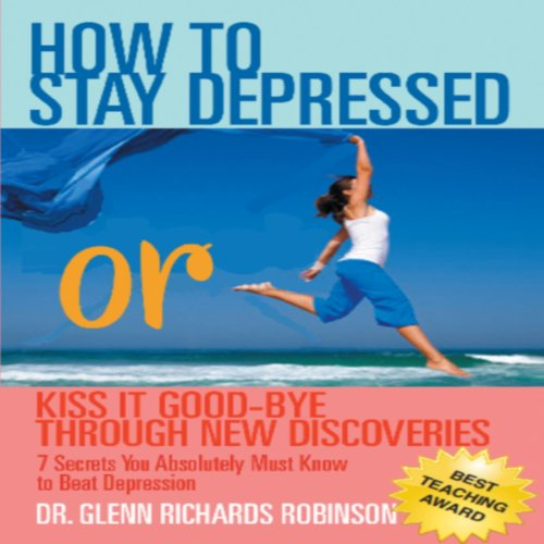 How to Stay Depressed audiobook cover art