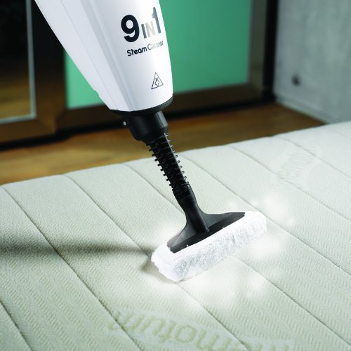 Morphy Richards 720020 9-in-1 Steam Mop Kills 99.9% of Bacteria Around the Home