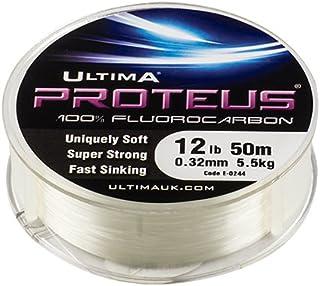 Ultima Proteus Stiff Fluorocarbon havsfiskelina – klar, 0,40 mm – 20,0 lb