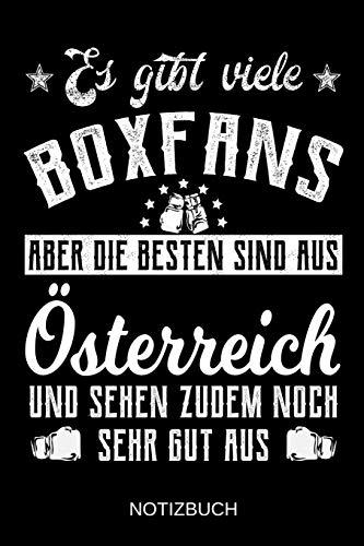 Es gibt viele Boxfans aber die besten sind aus Österreich und sehen zudem noch sehr gut aus: A5 Notizbuch | Liniert 120 Seiten | Geschenk/Geschenkidee ... | Ostern | Vatertag | Muttertag | Namenstag