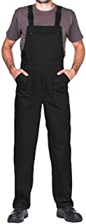 Work Bib and brace overalls, Overalls men, Bib and Brace Dungarees mens, Made in EU, Mazalat Protective coverall, S -3XL s...