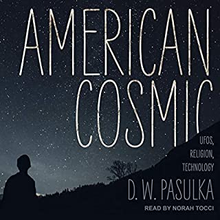American Cosmic audiobook cover art