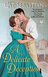 A Delicate Deception by Cat Sebastian book cover