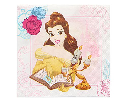 Buy Bargain American Greetings Beauty and the Beast, Lunch Napkins, 16-Count