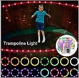 HKMA LED-Trampolin-Leuchten Für 6Ft, 8Ft, 10Ft, 12Ft, 14Ft, 15Ft, 16Ft Trampolin Outdoor-Nacht Spiel Trampolinlicht Intime Nacht-LED-Lampe,6ft