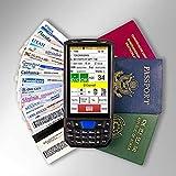 IDVisor Smart V2 ID Scanner - Drivers License and Passport Age Verification & Customer Management + Charger Cradle, Hand Strap & More.
