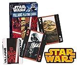 Star Wars Saga Villains Edition Playing Cards ~ Darth Vader, Darth Maul, Zam Wesell, Jabba The Hutt and More!