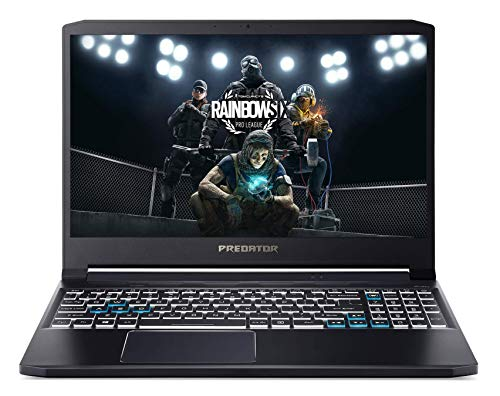 "Acer Predator PT315-52 15.6"" FHD IPS 144 Hz Display Gaming Laptop (Intel i5 10300H Processor/8GB Ram/512GB SSD/Win10/GTX 1650Ti Graphics), 1.7kg, Abyssal Black"
