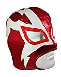 Shocker Adult Lucha Libre Wrestling Mask (pro-fit) Costume Wear - Red