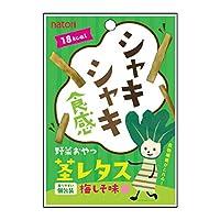 なとり 野菜おやつ 茎レタス 梅しそ 16g×80袋入(10×8)/ケース販売
