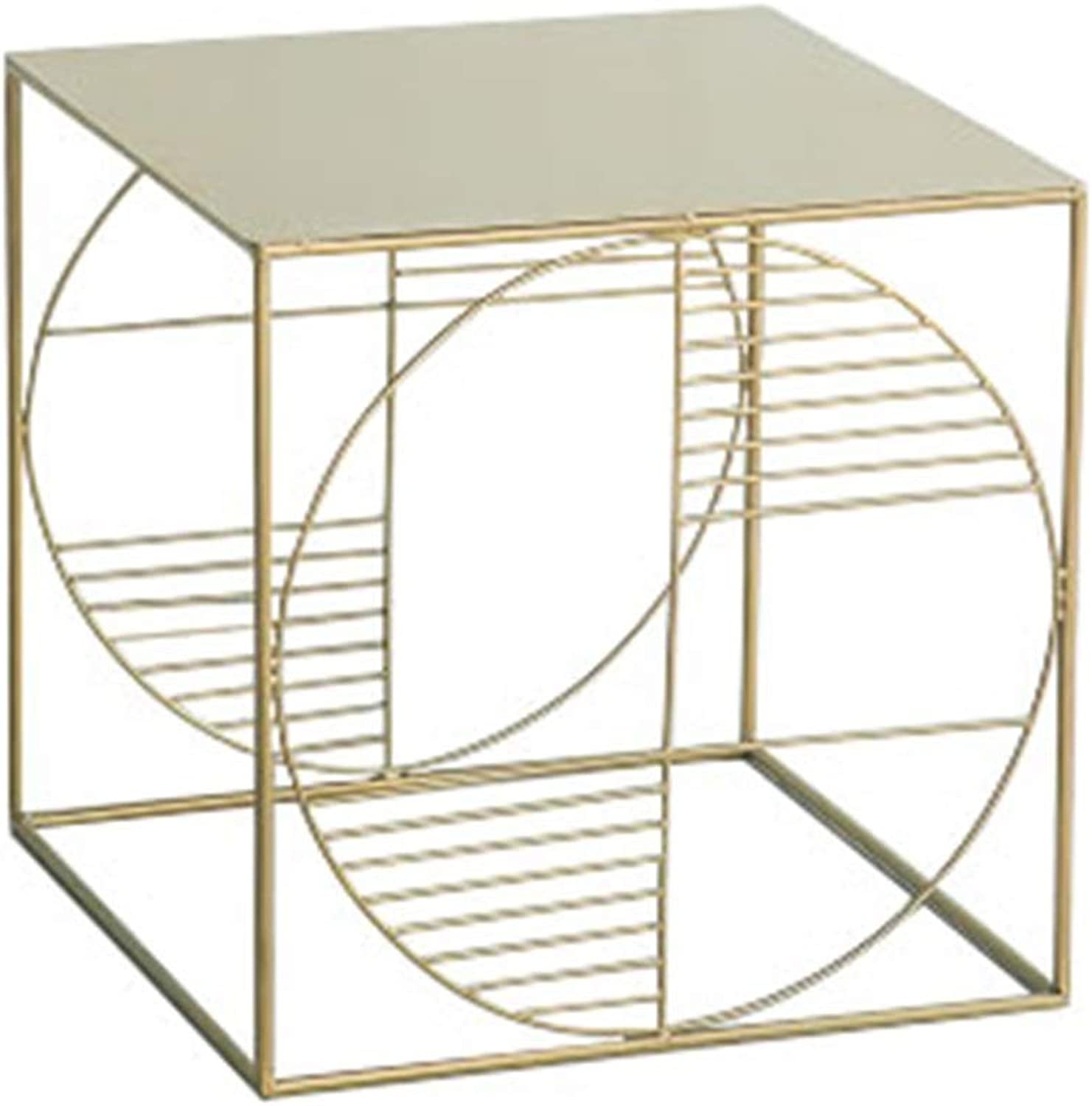 Metal Square Table Removable for Living Room Bedroom Study 007