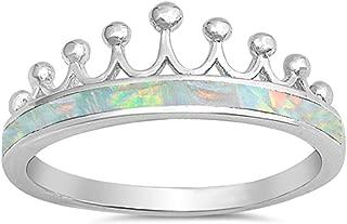 Best opal crown ring Reviews