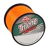 Berkley Trilene Big Game Monofilament Fishing Line, Blaze Orange, 12lb - 1175yd